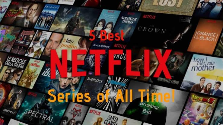 Netflix Top 5 Original Series the last kingdom, vikings, the 100, money heist and Spartacus
