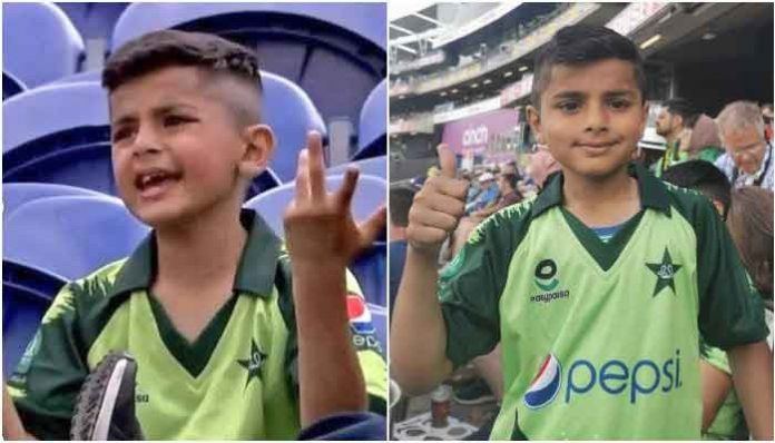 'Disappointed' boy flashes thumbs up for Pakistan after thriller T20 against England