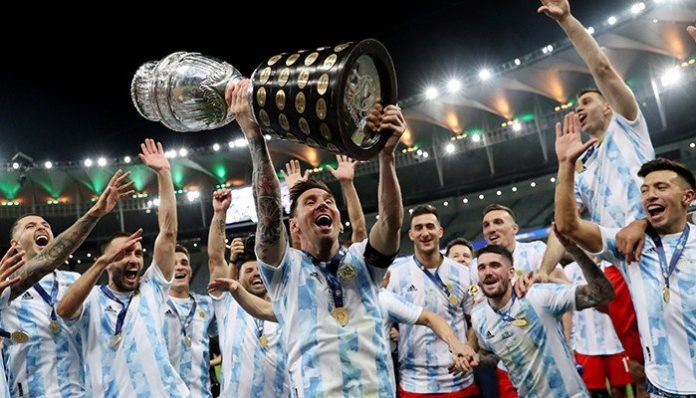 Lionel Messi breaks drought by clinching first major title with Argentina