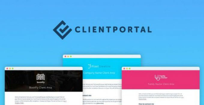 Leco Client Portal Nulled integrates with WordPress to help you manage your client projects … without the cumbersome project management software.
