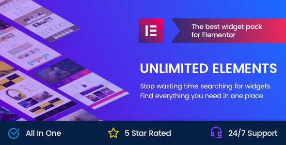 Unlimited Elements For Elementor
